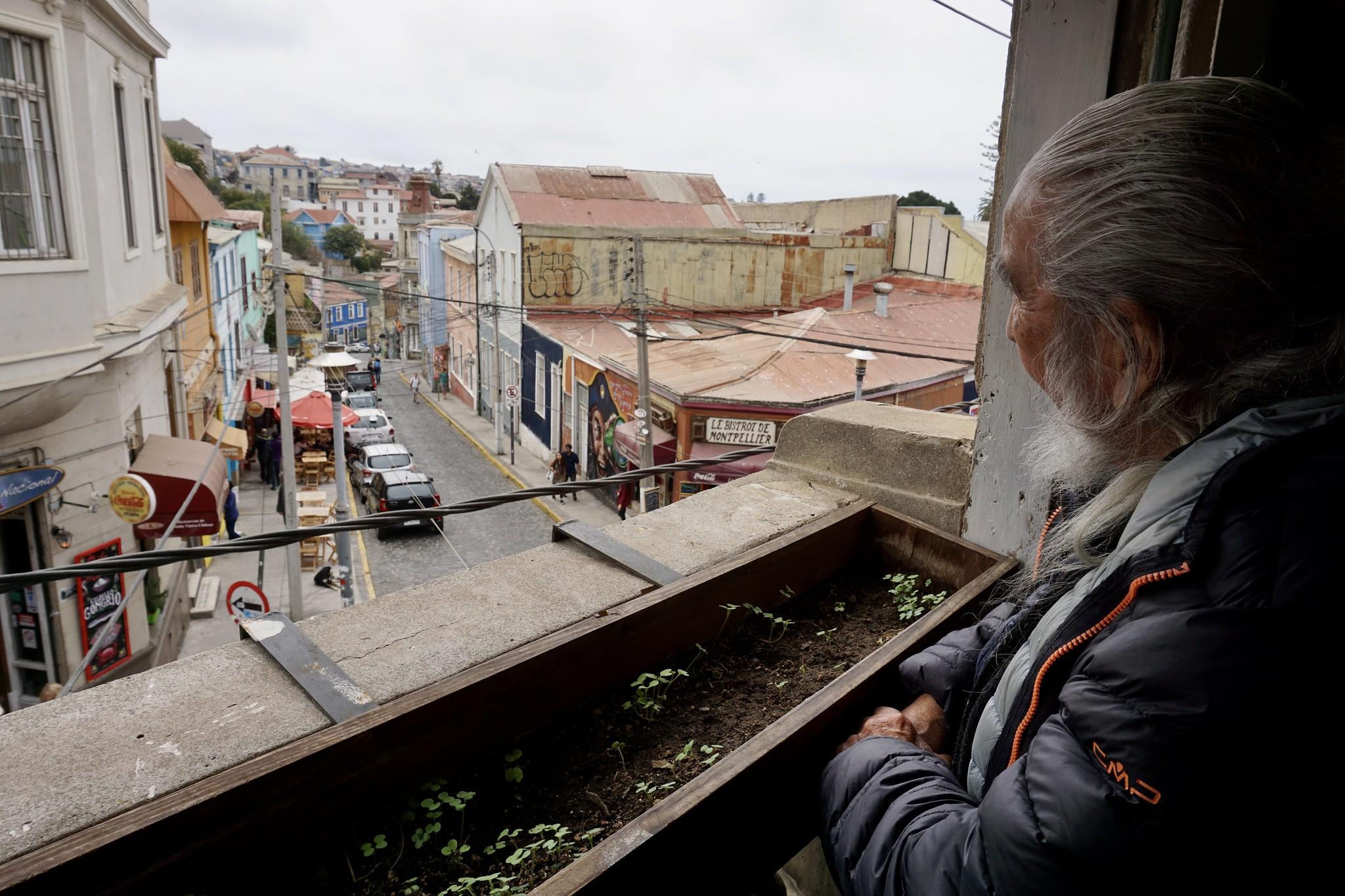 Antonio Parra en Café Entre Cerros
