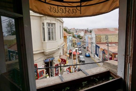 Café Entre Cerros, cerro Alegre