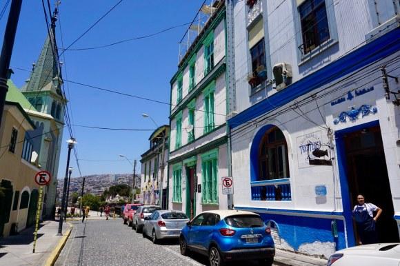 Restaurante Tres Peces, cerro Concepción