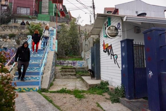 Terraza Lamar, cerro Bellavista. Valparaíso.