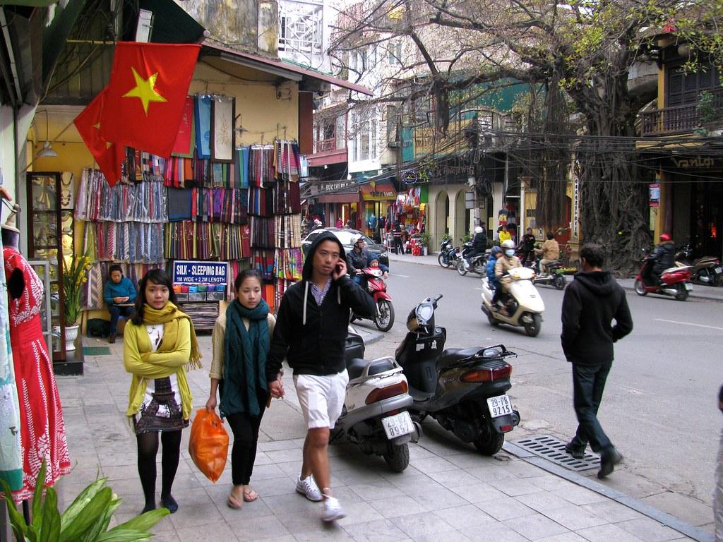 Hanoi en movimiento