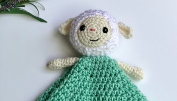 Ellie the Elephant Lovey- Free Pattern A Purpose and A Stitch