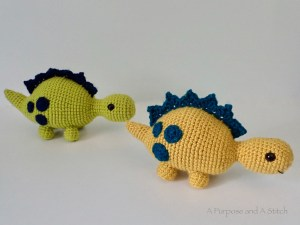 Greg the Steg Amigurumi