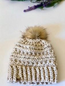 Fireside Beanie- Free Crochet Pattern