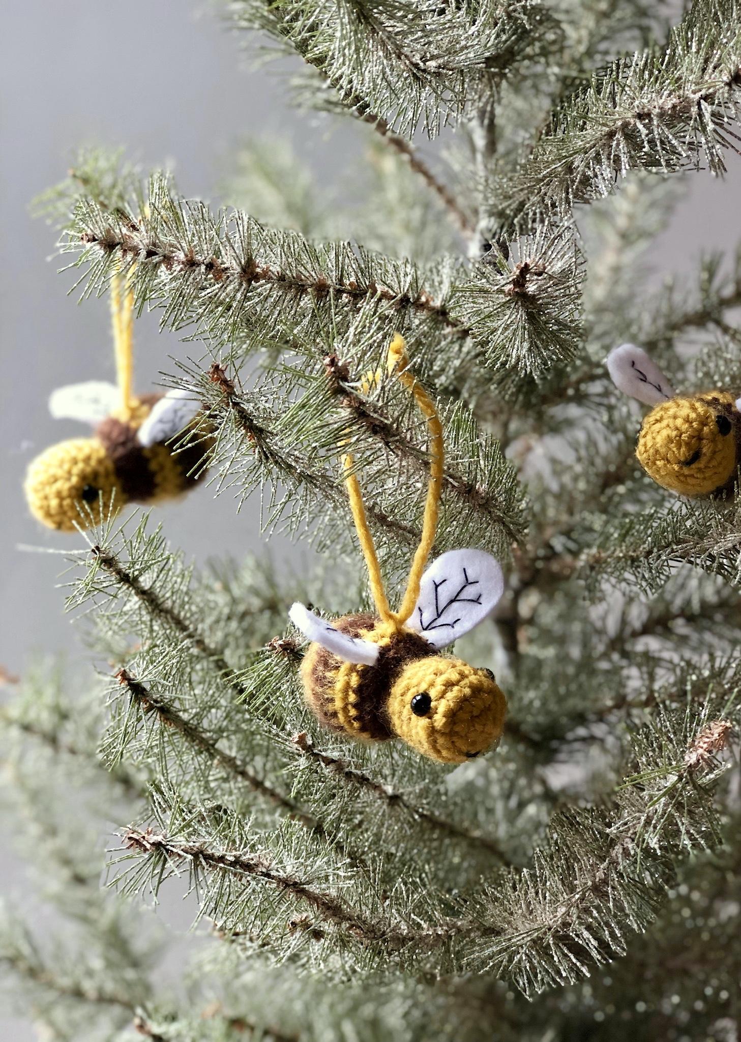 Honey Bee Amigurumi- 2 Different Ways Blog Post