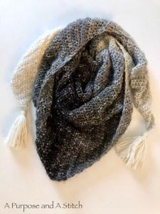Beginner Friendly Triangle Scarf- A New Angle