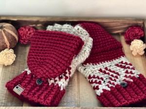 Arroway Glittens- Free Crochet Pattern