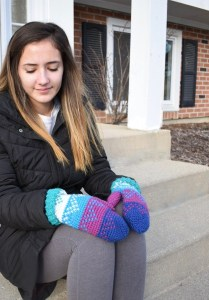 Andes Fair Isle Mitten- Blog Post