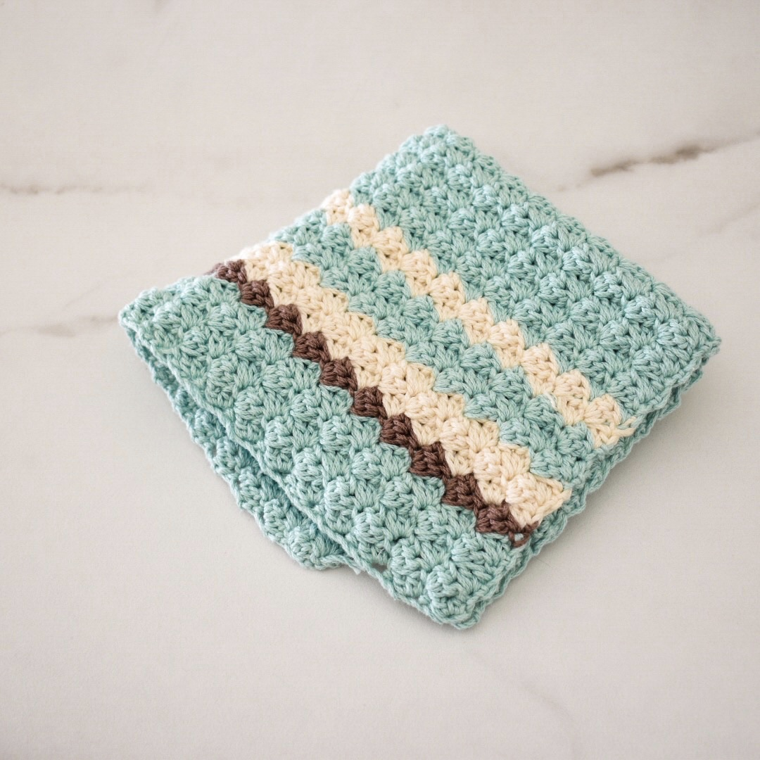Sweet Mint Washcloth