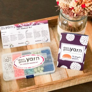 Darn Good Yarn Jewelry Kit- Product Review & Tutorial