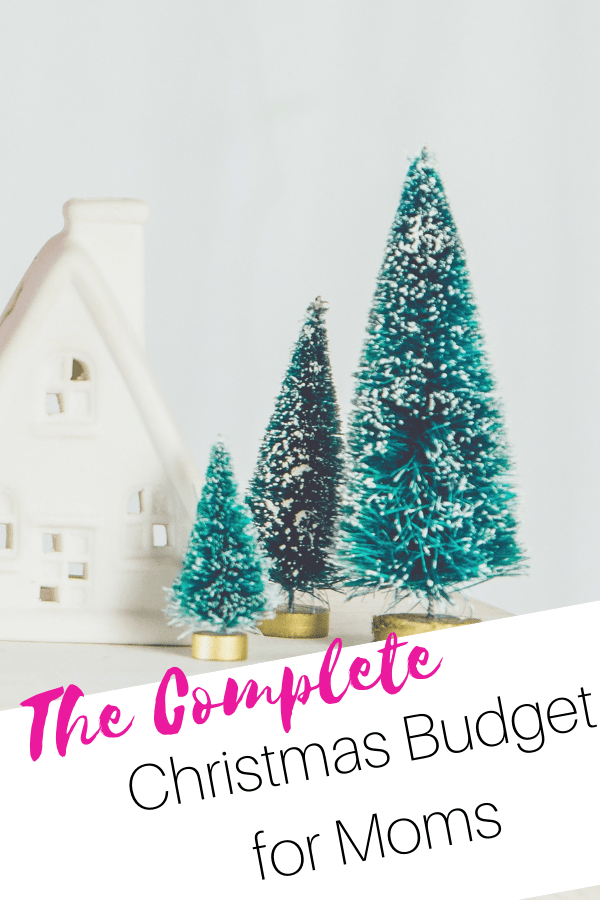 christmas budget for moms