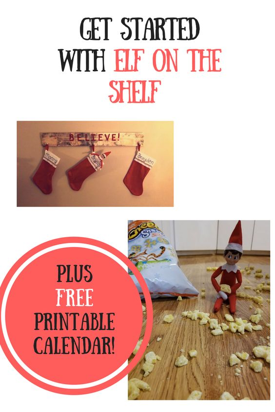 elf on the shelf ideas eating popcorn