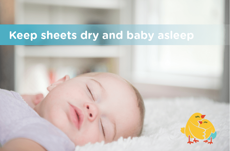 3 Keys to a Nighttime Routine for Infants (and why diaper doublers are a must)