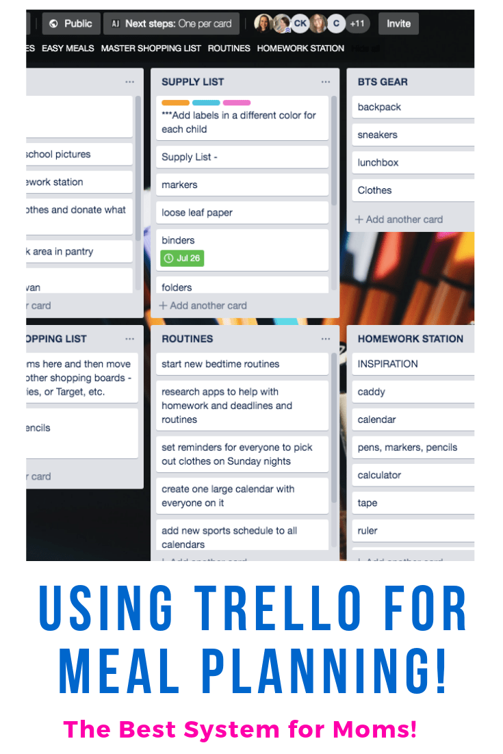 trello-meal-planning