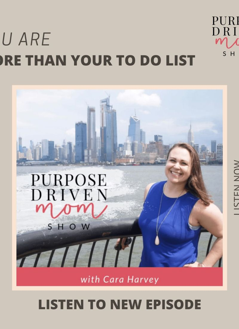 You Are More Than Your To Do List