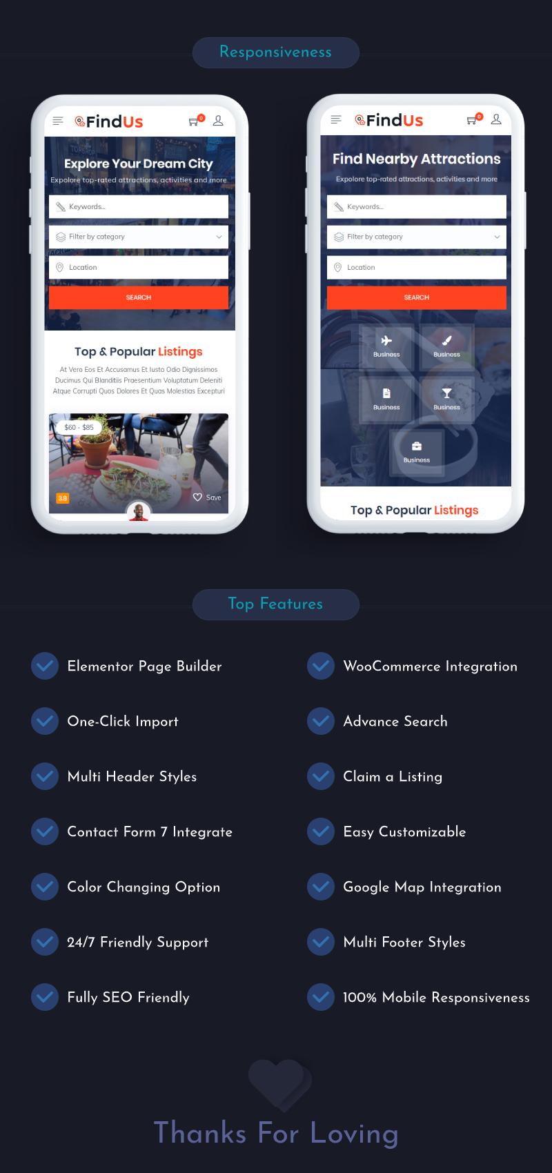 Findus - Directory Listing WordPress Theme - 6