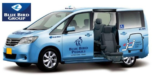 Taksi Lifecare Blue Bird Indonesia