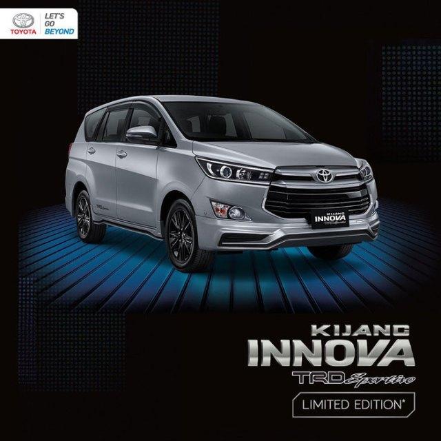Toyota Kijang Innova Silver Metalic
