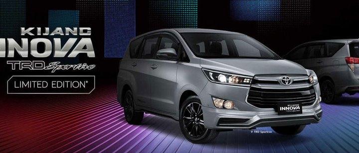 Toyota Kijang Innova TRD Sportivo Limited Edition.