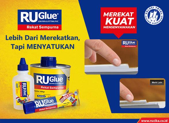 Lem Pipa RuGlue dari Rucika