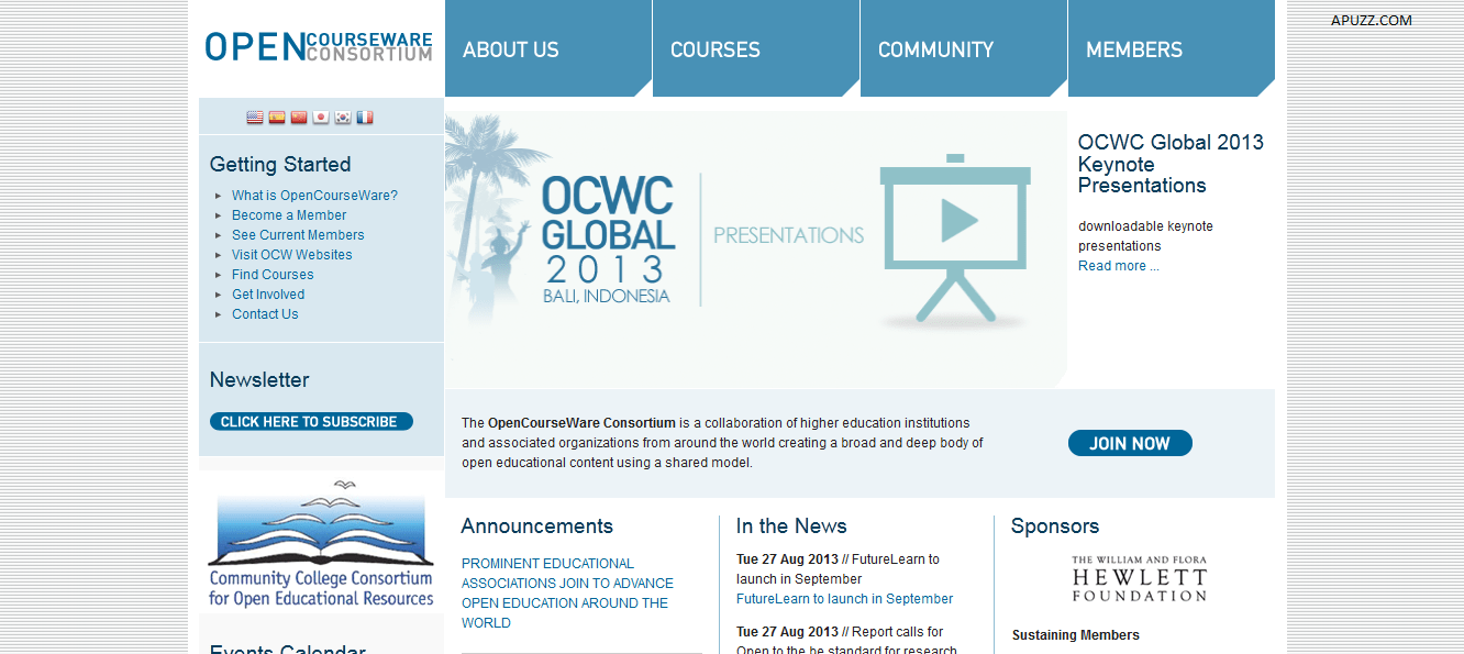 opencourseware consortium – ocwc brasil Enterprise solutions provider novell has joined the opencourseware consortium (ocwc), the company announced this week ocwc is an initiative among the higher education community to promote the development and implementation of open-source education materials in the spirit of the open source.