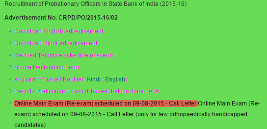 sbi.co.in_po 2015 mistake main exam