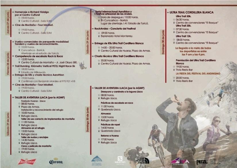 Festival Andinismo Cordillera Blanca 2019