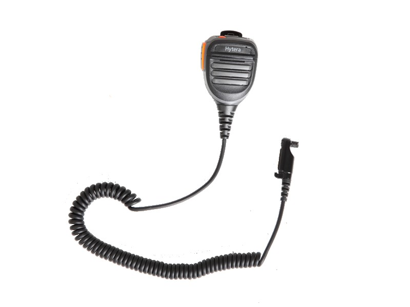 Remote Speaker Microphone with emerency button and 3.5mm