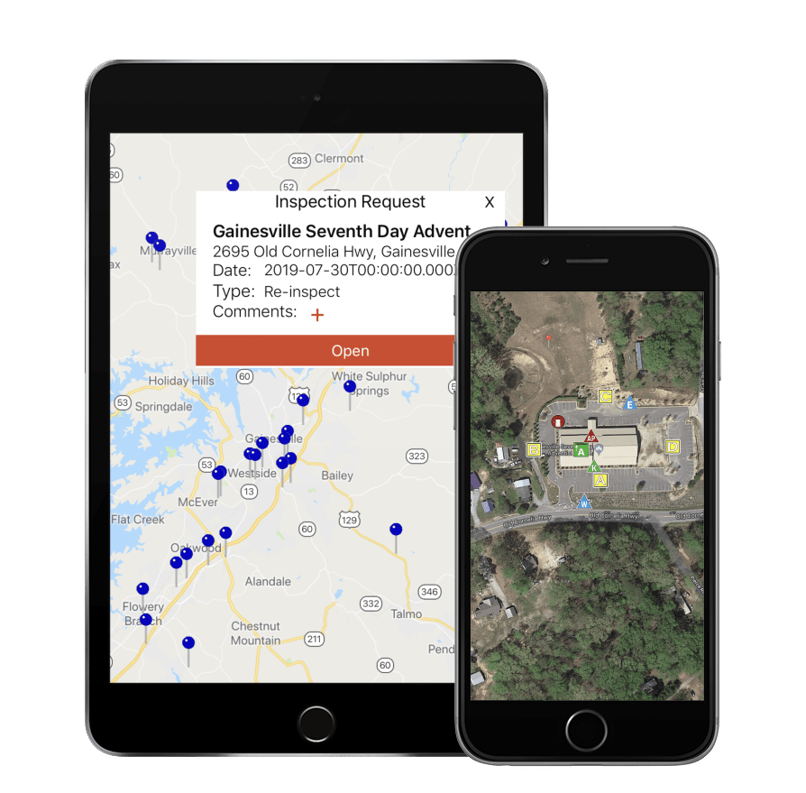 Fire inspections with SmartInspect