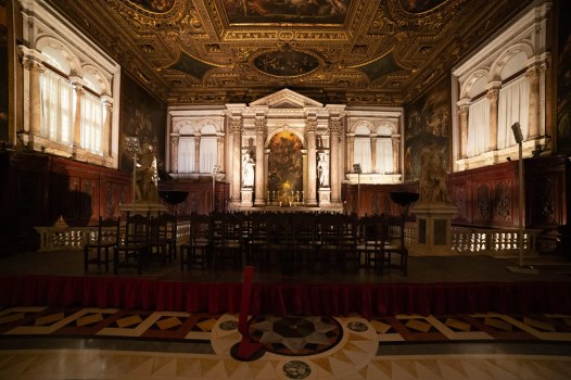 Scuola di San Rocco during a scouting by APZmedia for Oikos
