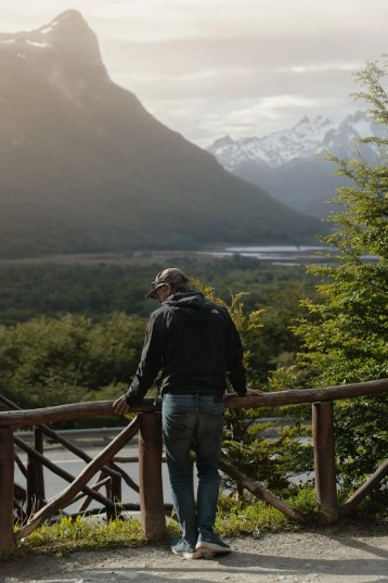 Location scout in Tierra del Fuego