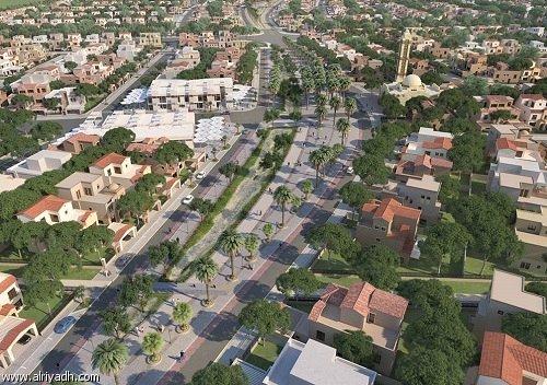 حي التالة جاردنز بمدينة الملك عبدالله الاقتصادية
