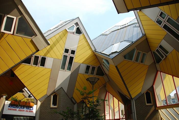 المباني المكعبة في هولندا
