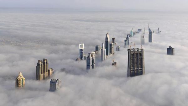 ناطحات السحاب في دبي