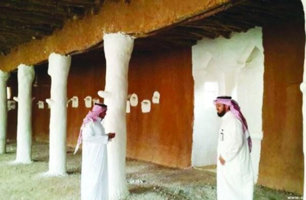 إحياء المساكن القديمة بمركز الشعراء