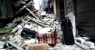 إنهيار عقارات في مصر