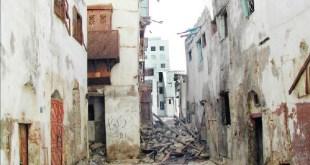 منازل متهالكة في جدة ( منزل وبناية )
