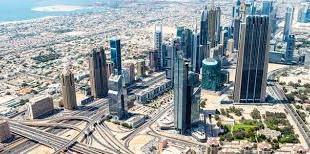 الأراضي في دبي