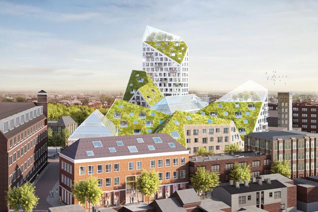 مشروع سكني عالي الاستدامة