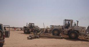 أمانة الطائف تزيل تعديات على أراضٍ حكومية