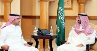 أمير منطقة مكة المكرمة بالنيابة مع وزير الإسكان