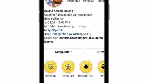 Instagram Balibul Aqiqoh Malang