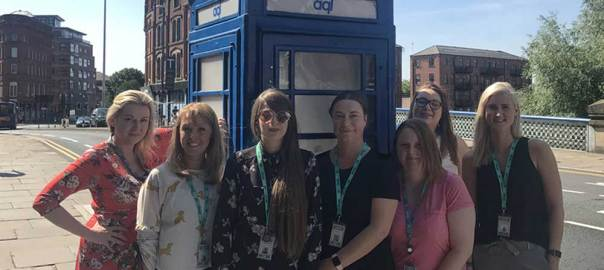 image: Yorkshire leading ladies celebrate sci-fi first