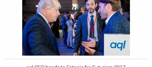 image: aql CEO heads to Estonia for Futurism 2017