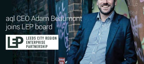 image: aql CEO Adam Beaumont joins LEP board