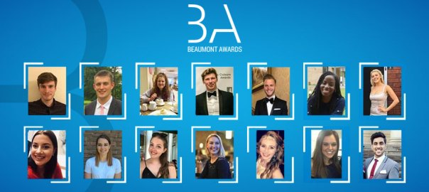 First annual Beaumont Awards recognise young innovators