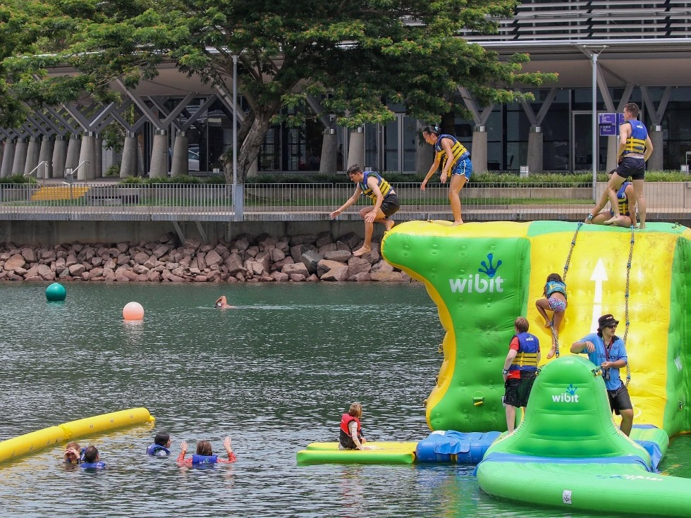 Aquapark at Darwin Waterfront, NT, (3)