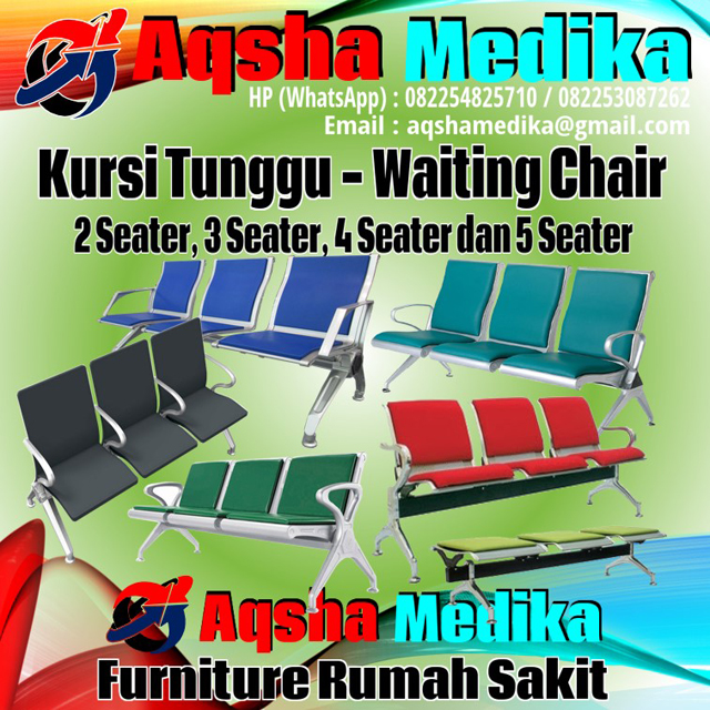 Kursi Tunggu Model Terbaru 2017 | Aqsha Medika Groups