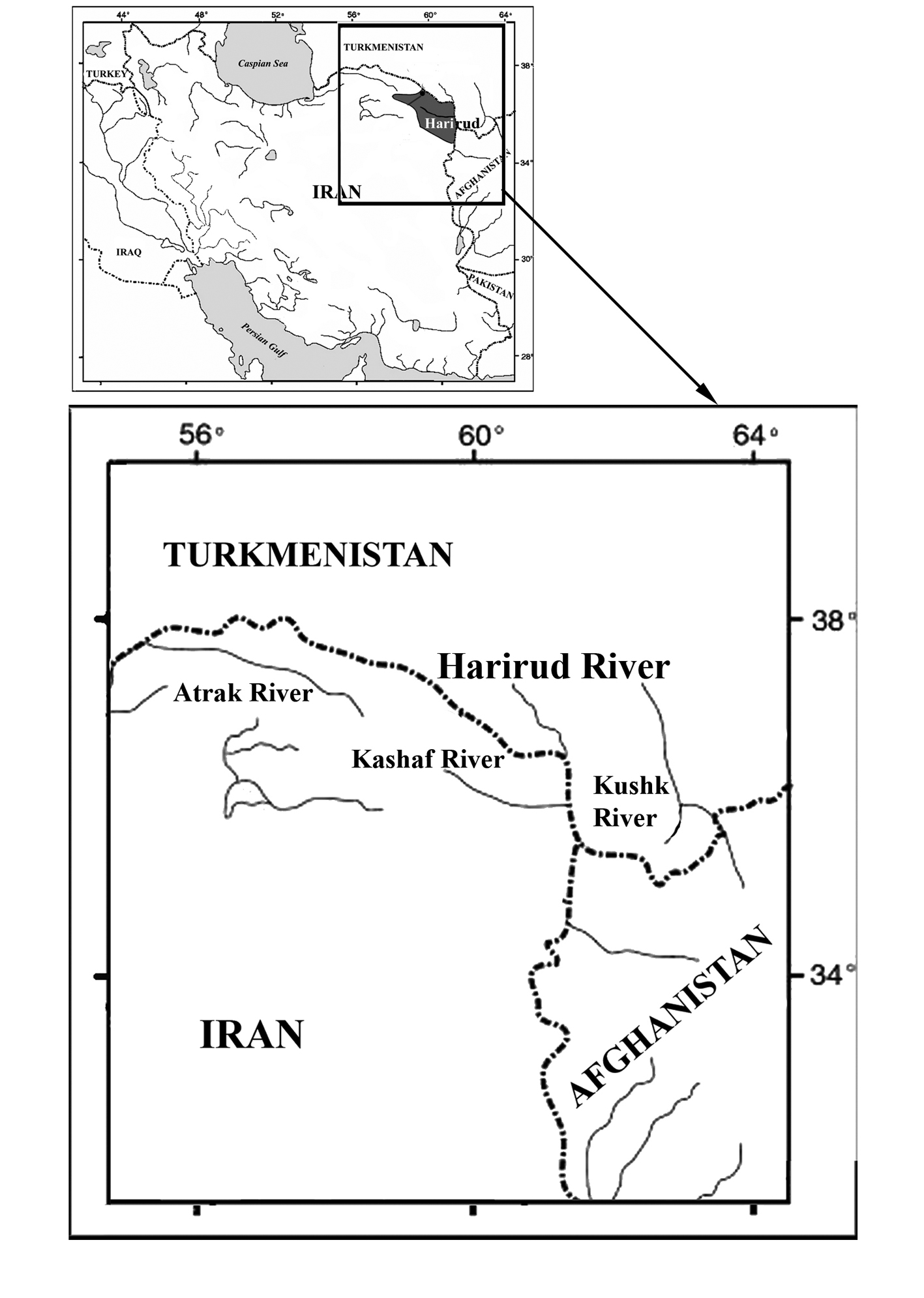 An Updated Checklist Of Fishes From The Iranian Portion Of The Harirud Tedzhen River Basin