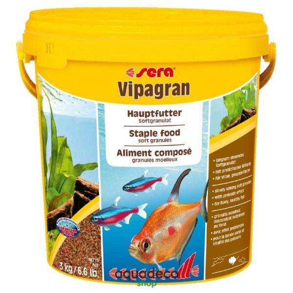 Sera vipagran - корм для всех аквариумных рыб. Гранулы 10000 ml: купить в Киеве с доставкой